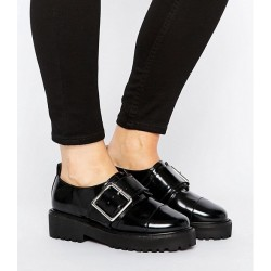Wide Fit Chunky Flat Shoes